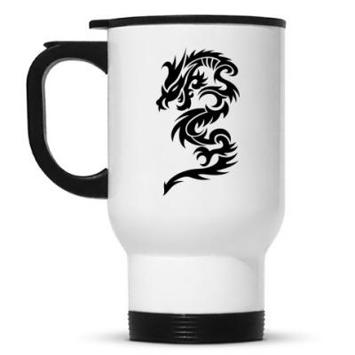Кружка-термос Abstract Dragon