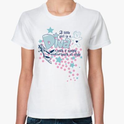 Классическая футболка Diva