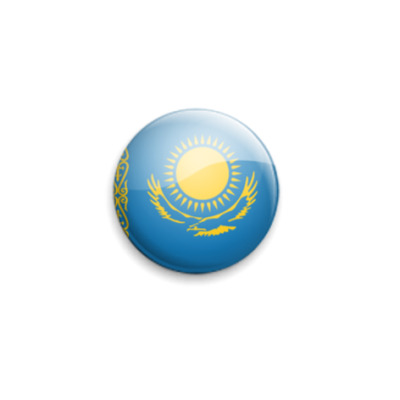 Значок 25мм Kazakhstan