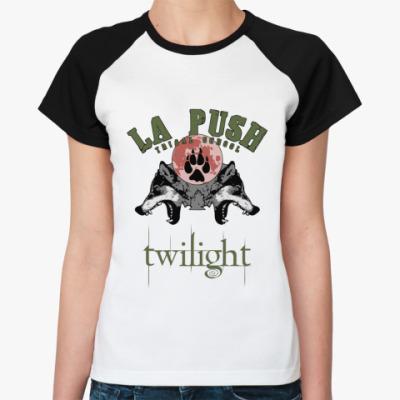Женская футболка реглан La push