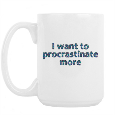 Кружка Procrastination