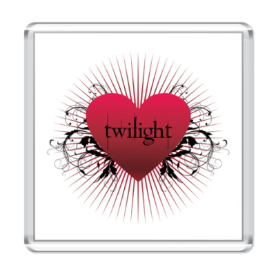 Магнит Twilight heart