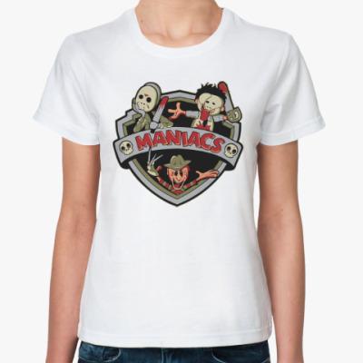 Классическая футболка Маньяки