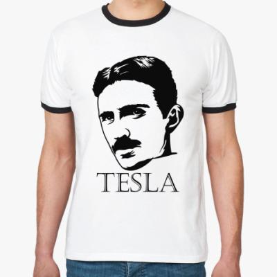 Футболка Ringer-T Tesla