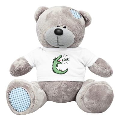 """Плюшевый мишка Тедди медведь """"Кроко Дайль"""""""