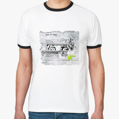 Футболка Ringer-T Глаза тигра