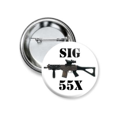 Значок 37мм SIG
