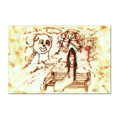 Наклейка (стикер) Dasd Vision