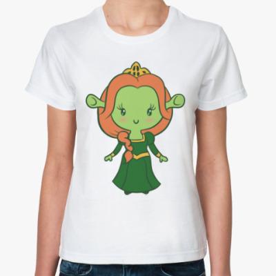 Классическая футболка Принцесса Фиона