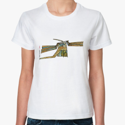 Классическая футболка  Идем (жен)