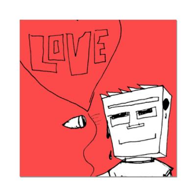 Наклейка (стикер) Compormiss&Love