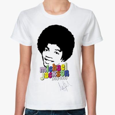 Классическая футболка Майкл
