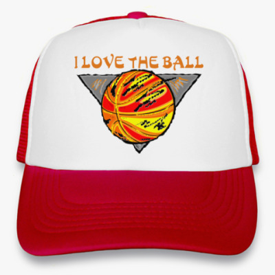 Кепка-тракер I Love The Ball