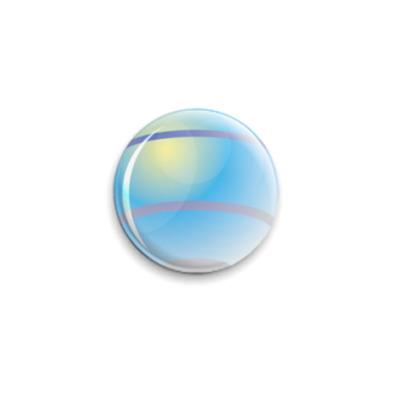 Значок 25мм шар