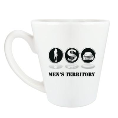 Чашка Латте Men's territory
