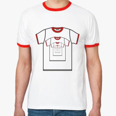 Футболка Ringer-T  «В футболке»