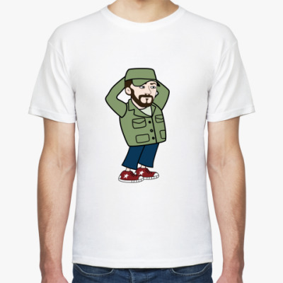 Футболка  футболка Шнуров