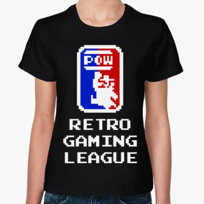 Женская футболка Ретро геймер