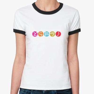 Женская футболка Ringer-T Toradora!