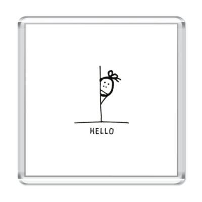 Магнит Hello!