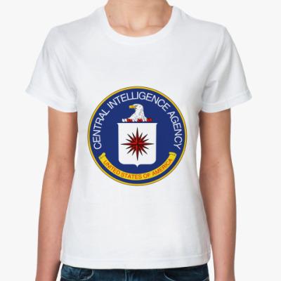 Классическая футболка CIAЦРУ
