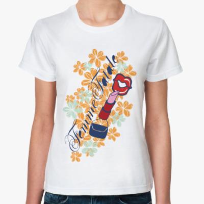 Классическая футболка Femme Fatale