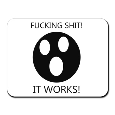 Коврик для мыши  ItWorks!