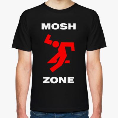 Футболка mosh zone, мош