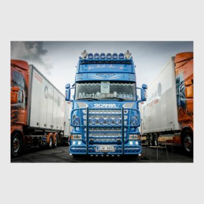 Постер Scania R500