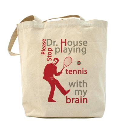 Сумка House tennis Холщовая сумка