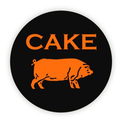 Костер (подставка под кружку) Cake