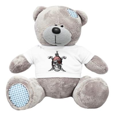 Плюшевый мишка Тедди Весёлый Роджер