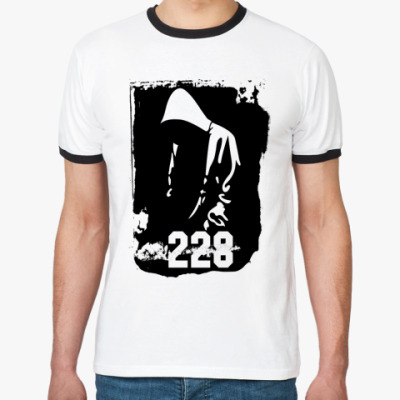 Футболка Ringer-T Рэпер 228