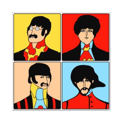Наклейка (стикер) Beatles