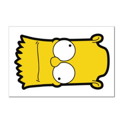 Наклейка (стикер) Crazy Bart