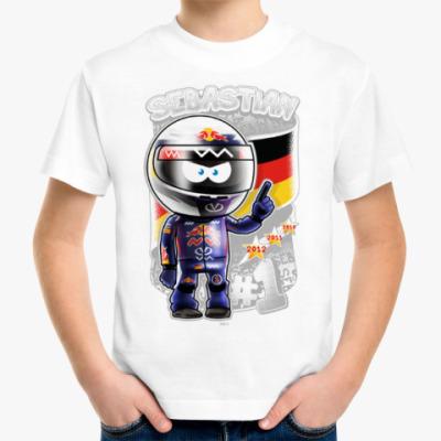 Детская футболка Sebastian № 1