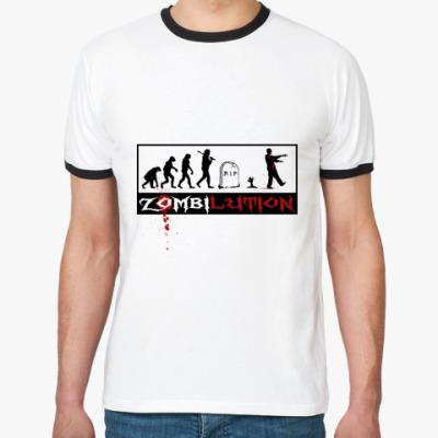 Футболка Ringer-T Zombilution