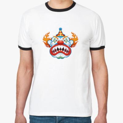 Футболка Ringer-T Evil clown