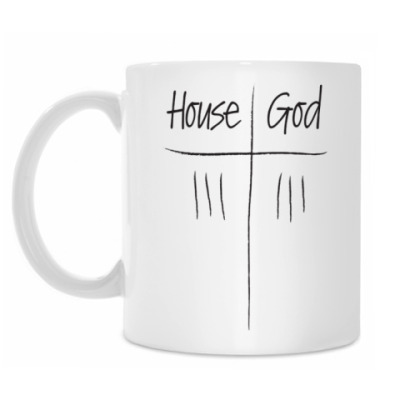 Кружка House Vs God