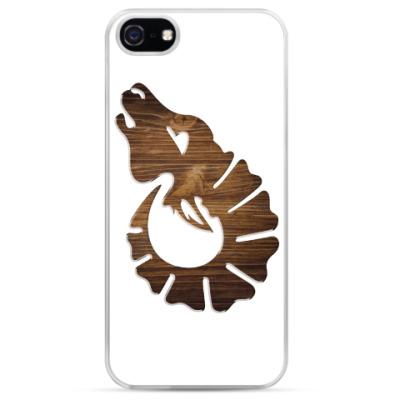 Чехол для iPhone Морда деревянной козы