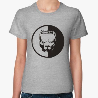 Женская футболка Футбольный хулиган