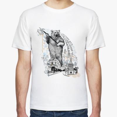 Футболка Медведь с секирой