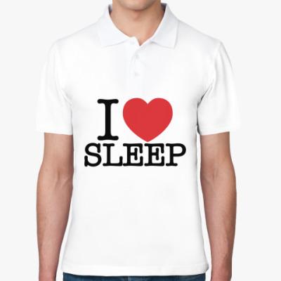 Рубашка поло я Люблю спать