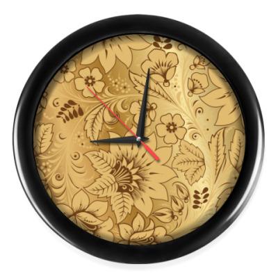 Настенные часы Golden Khokhloma
