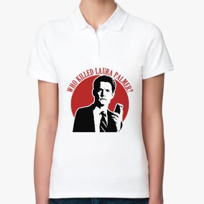 Женская рубашка поло Twin Peaks Dale Cooper