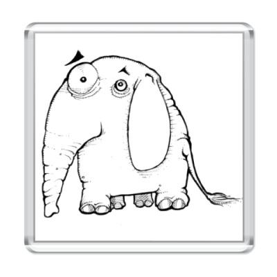 Магнит Слон