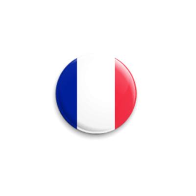 Значок 25мм  Франция