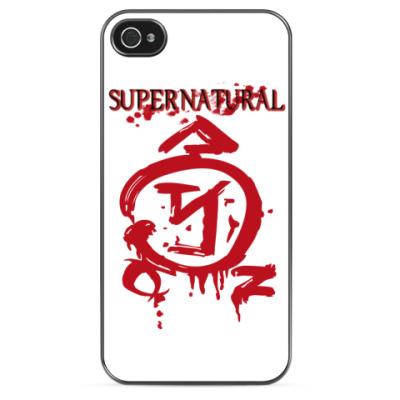 Чехол для iPhone Знак ангела - Supernatural