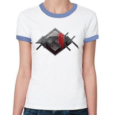 Женская футболка Ringer-T Skrillex