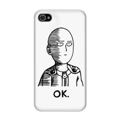 Чехол для iPhone 4/4s One-Punch Man